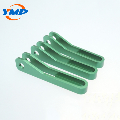 High Precision Green Anodized  Aluminum CNC Milling Parts 2