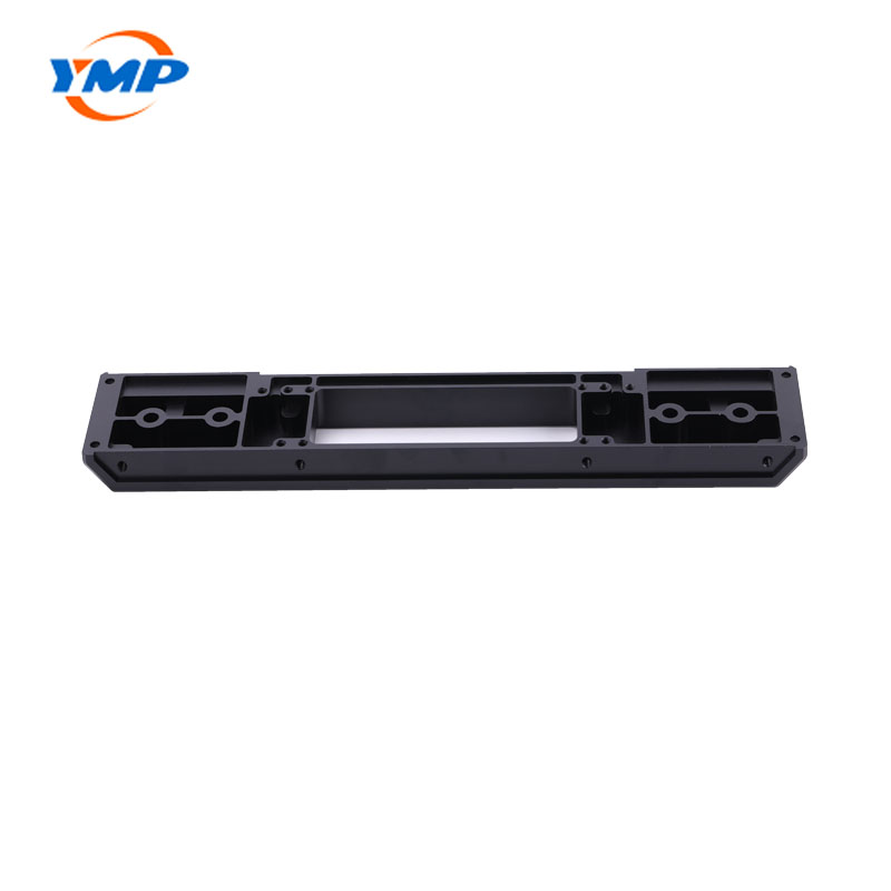 Customized CNC Black Finished Aluminum Parts Machining Service